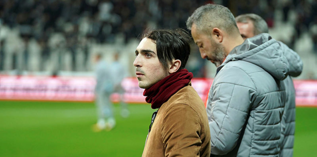 Abdülkadir Ömür, Trabzonspor - Beşiktaş derbisinde tribünde