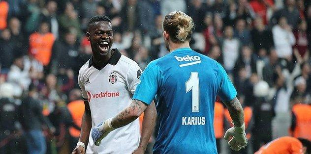 Beşiktaş defans hattı atakları savunamadı