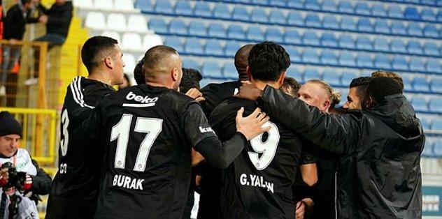 Beşiktaş deplasmanda da kazanıyor