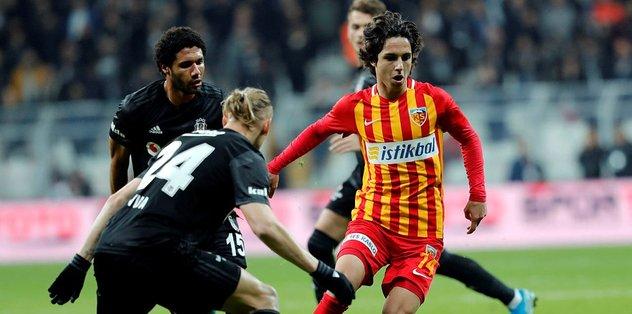 Beşiktaş ile Kayserispor 48. kez karşı karşıya!