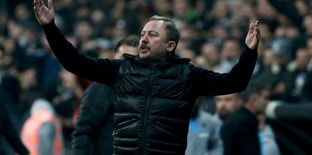 Beşiktaş - Trabzonspor maçında dikkat çeken detay! Sergen Yalçın...