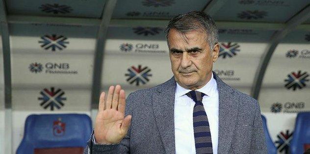 Beşiktaş'ta Şenol Güneş: Trabzon daha iyiydi