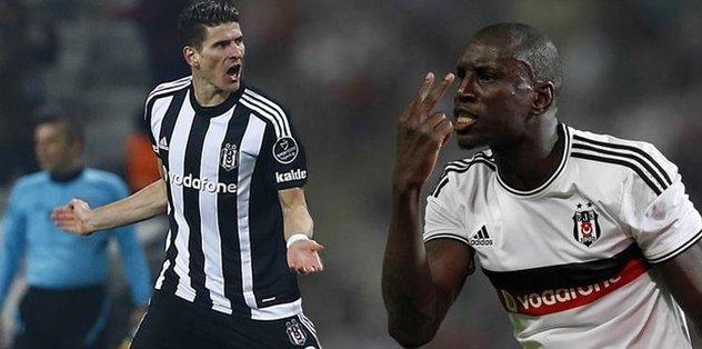 Beşiktaş'tan açıklama: Gomez zor, Demba Ba olabilir