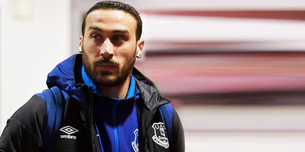 Everton taraftarlarından Cenk Tosun çıkışı: Defol git!