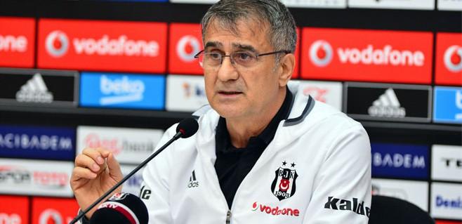 Beşiktaş'ta Şenol Güneş isyan etti