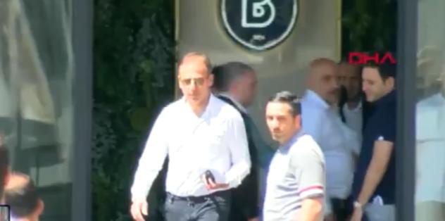 Abdullah Avcı Başakşehir kulüp binasından ayrıldı