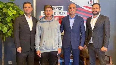 Beşiktaş altyapısından Semih Kılıçsoy ile profesyonel sözleşme imzaladı
