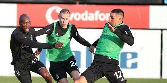 Beşiktaş Antalyaspor hazırlıklarını sürdürdü
