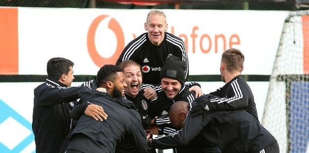 Beşiktaş Başakşehir'e hazır