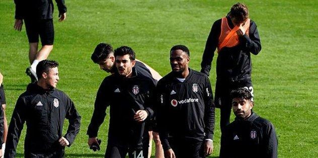 Beşiktaş hazırlık maçında galip geldi