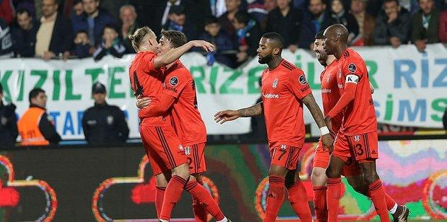 Beşiktaş Şenol Güneş ile gollü galibiyetleri seviyor
