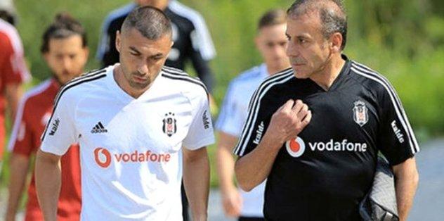 Beşiktaş Teknik Direktörü Abdullah Avcı'nın son umudu Burak Yılmaz