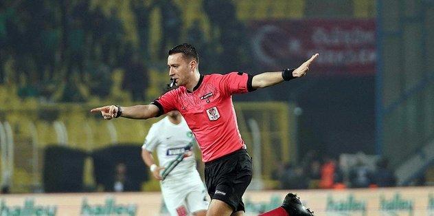 Beşiktaş'ın Konyaspor maçını Zorbay Küçük yönetecek