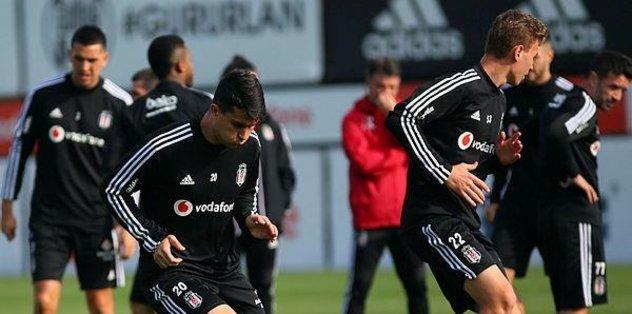 Beşiktaş'ta çalışmalar devam edecek