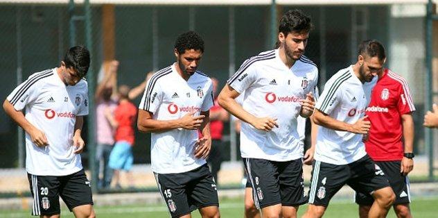 Beşiktaş'ta Gazişehir Gaziantep maçı hazırlıkları sürüyor