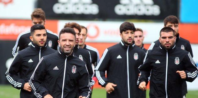 Beşiktaş Kayserispor hazırlıklarına 5 eksikle başladı