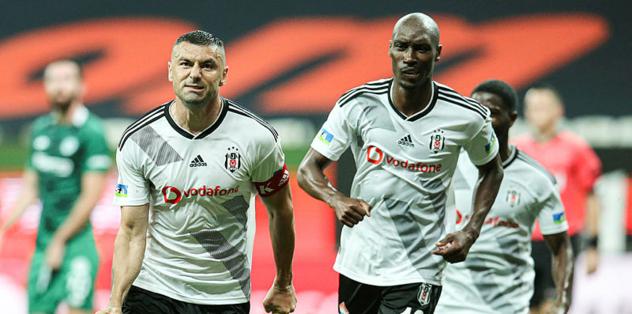 Burak Yılmaz Beşiktaş'ı sırtlıyor! Yıldız golcüden dev katkı