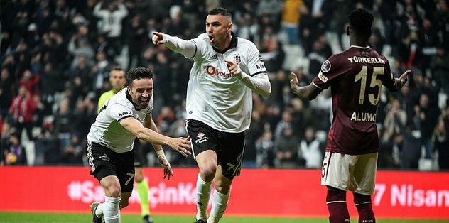 Burak Yılmaz, Beşiktaş'taki ikinci döneminde parlıyor