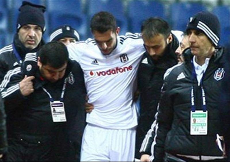 Beşiktaş'ın belası çapraz bağ sakatlığı