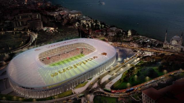Vodafone Arena'da Beşiktaş'ı Anlatan 8 Levha