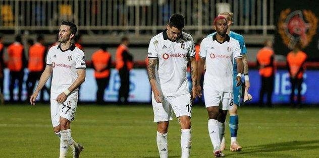 Geçen yılın kopyası! Beşiktaş'ta değişen bir şey yok!