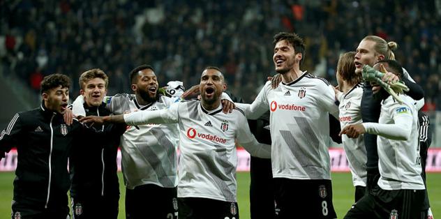 MAÇ SONUCU Beşiktaş 3-0 Gaziantep FK