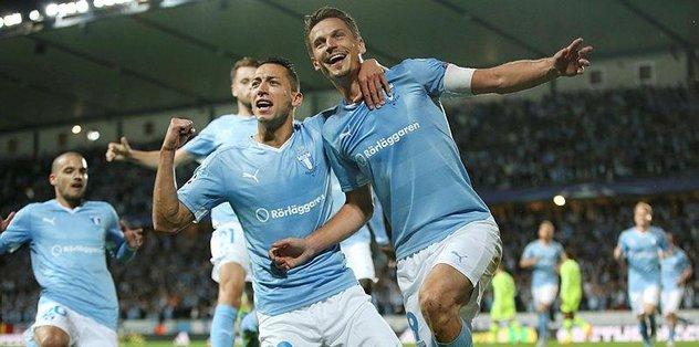 Malmö 3 maç sonra kazandı