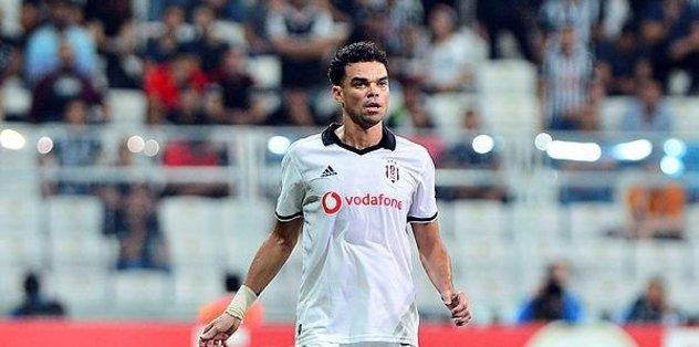 Pepe Beşiktaş'a veda etti