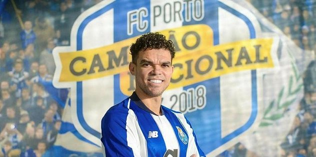 Pepe yeniden Porto'da