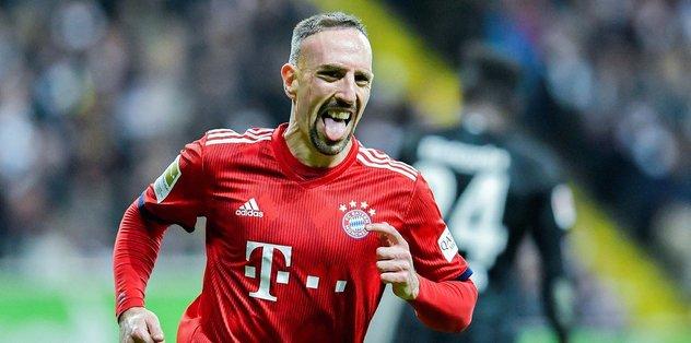 """Ribery'ye """"Come to Beşiktaş"""" mesajı"""
