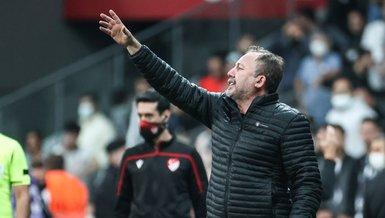 Sergen Yalçın Beşiktaş Adana Demirspor maçının ardından konuştu!
