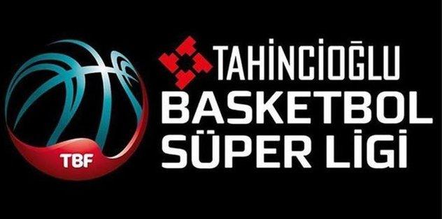 Tahincioğlu Basketbol Süper Ligi puan durumu ve play-off eşleşmeleri